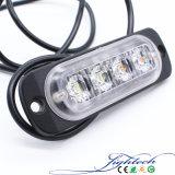 Lightech H4 Feu arrière à LED avec la couleur blanche