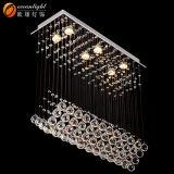 Oceanlamp Großhandelskristallleuchter-Blatt-Entwurf, der am Treppen-Ecken-/Living-Raum Om718 hängt