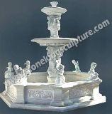 Hand Gesneden Marmeren Fontein voor de Decoratie van de Tuin