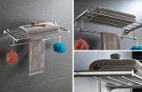 De muur zette de Plank van de Handdoek van de Badkamers van Roestvrij staal 304 op