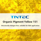 (HD-PE에서 비 휘게 하는) 플라스틱을%s 노란 착색제 151