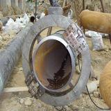 Metal neumático frío extremo del tubo de acero inoxidable/corte biselado/máquina biselado