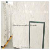 도와, 단계, 싱크대, 상단, 허영 상단을%s 백색 대리석 백색 얼음 Onxy 대리석 석판