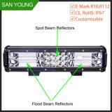 3 Barra de luz LED de linha para linha triplo do teto do veículo na barra de luz LED