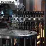 불 채우 캡핑 수로 장비를 일으키는 음료 포장 공장