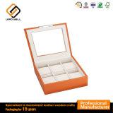 Cuadro 6 piezas en color naranja Ver Vitrina Caja de almacenamiento