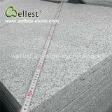 中国人の最も普及した磨かれた薄い灰色の花こう岩の壁か床タイル