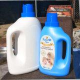 OEM Detergent PE van de Wasserij van de Zeep van 1000 Ml Vloeibare Plastic Fles met GLB