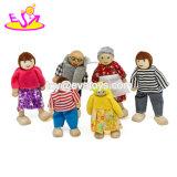 Лучшие продажи мини-потребителей деревянных Dollhouse куклы для детей W06D119