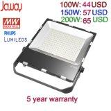 Драйвер Meanwell открытый светильник 100W/150 Вт/200W Slim SMD Светодиодный прожектор с 5 года гарантии