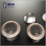 Oferta de fábrica de vidro óptico metade lente esférica, meia bola
