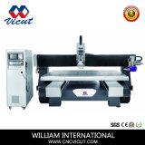 Centre de traitement de l'aluminium CNC multifonction, MDF PVC gravure sur bois de la machine de la machine de traitement