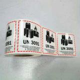 Embalagem de auto-adesivo autocolante de papel personalizado de etiquetas autocolantes etiquetas impressas