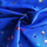 Tissu polyester 300t pongés avec des couleurs de la dorure pour vêtement