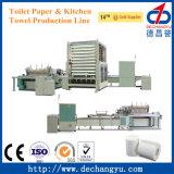 Dcy-40104 Seres completamente automática de rollo de papel higiénico/ Línea de Productos de Cocina
