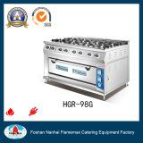 Intervallo di gas dei 8 bruciatori con il forno di gas (HGR-98G)