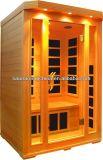 Einfach Typen Personen-Gebrauch-Infrarothauptsauna des Sauna-Raum-installieren 2