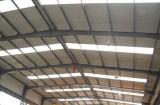 Edificio de la estructura de acero del palmo ancho
