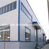 가벼운 강철 아치 저장 건물 공간 프레임 시스템