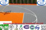 Sperrende verschobene Basketball-Bodenbelag-Sport DECT-Fliese
