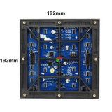 Esplorazioni impermeabile esterna del modulo 1/8 di colore completo LED di P6 IP65 SMD 192 * 192 millimetri per lo schermo di visualizzazione del LED