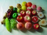 De met de hand gemaakte Kaars van het Fruit