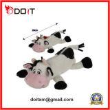 Sacchetto animale su ordine della matita della peluche della mucca del coniglietto per il regalo di promozione