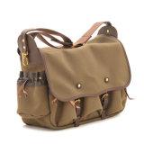 Дизайн торговой марки хорошего качества мужская Canvas Креста Органа Bag сумки через плечо