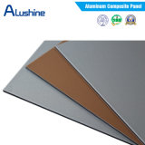 El panel compuesto de aluminio material ACP de la fachada de la pared exterior con la capa de PVDF (1500mm*5800mm*4m m)
