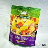 Упаковка и печать встать пластиковой упаковки многоразовый чехол для продовольствия логотип