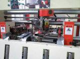 Halbautomatische gewölbte Pappe-Hefter-Maschine