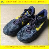Оптовая дешевая ранг смешанные используемые ботинки спортов для африканского рынка
