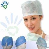 クリップ帽子、暴徒の帽子、Bouffant帽子、外科帽子、Cap博士のための使い捨て可能なNon-Woven Mateiral