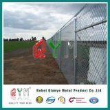 En el mercado estadounidense 6FT Cercado de la cadena de eslabones de cadena de valla de seguridad