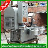La soja y semillas de palma el tornillo de prensa de aceite mecánica automática