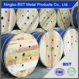 高品質のUngalvanizedの鋼線ロープ(6*19S+FC)