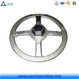 OEM Handwiel van de Klep van het Zand van het Aluminium van het Koolstofstaal het Gietende voor Klep