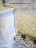 세륨과 SGCC를 가진 강화 유리가 샤워 문에 의하여 Drlling 구멍을 판다