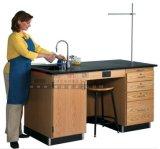 Vector al por mayor del laboratorio de química física de los muebles del laboratorio de la escuela
