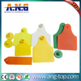 Premium Quality Plastic Passivates RFID Animal Ear Tag