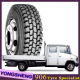A fábrica do tipo de Doupro caminhão chinês barato da garantia de 400000 quilômetros cansa 13r22.5 315/70r22.5 295/80r22.5