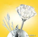 La moda más reciente Flor moderna lámpara de pared de cristal Bx-0825/1