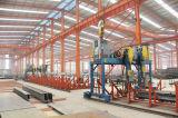 Almacén 2017 de la estructura de acero del panel de emparedado