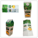 carton 1L triangulaire avec du jus/lait/crème/vin/eau/yaourt