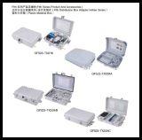 Caixa da caixa terminal FTTX da distribuição do plástico 48cores FTTH