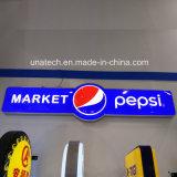 Специальный дизайн Pepsi алюминия Ультратонкий LED рекламных средств массовой информации в руках блок освещения