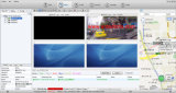 4 sistema de vigilancia video del CCTV del canal del CH 8 para los coches de los omnibuses de los coches de los vehículos