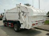 6 tonnes à 8 tonnes camion de transport de compresse et d'ordures d'ordures de qualité
