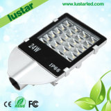 24W Solar LED Street Light met Ce RoHS
