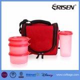 Refroidisseur d'isotherme personnalisé Tote sac à lunch avec préparation des repas des conteneurs Pack de glace